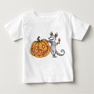 Jack-o-Lantern Opossum Infant T-shirt