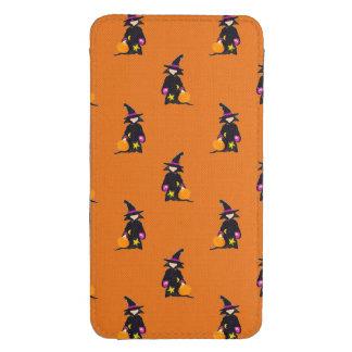 Jack o Lantern Orange Halloween Toddler Witch Galaxy S4 Pouch