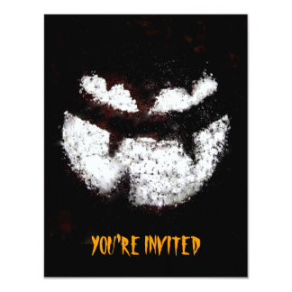 Jack O' Lantern Party Invitation