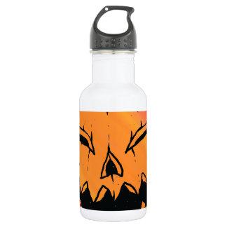 Jack O Lantern 18oz Water Bottle