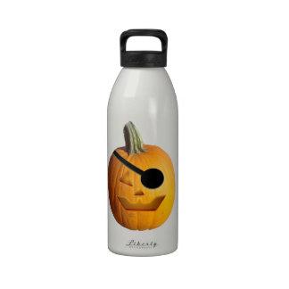 Jack O' Lantern Pirate Drinking Bottle