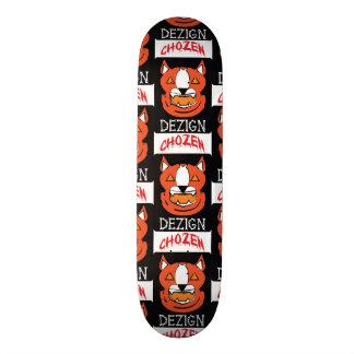 Jack-O-Lantern Pitbull Skateboard Deck