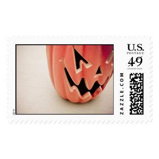 Jack O' Lantern postage (large)