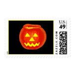 Jack O Lantern Postage Stamps