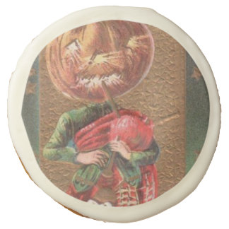 Jack O Lantern Pumpkin Bagpipe Sugar Cookie