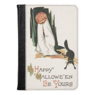 Jack O' Lantern Pumpkin Black Cat Prank