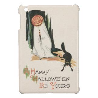 Jack O' Lantern Pumpkin Black Cat Prank Cover For The iPad Mini