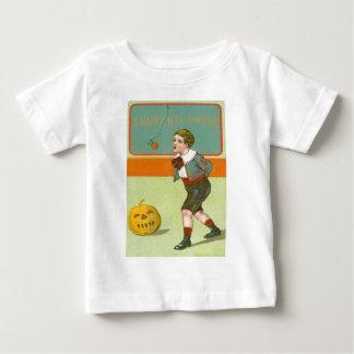 Jack O Lantern Pumpkin Bobbing Apple Baby T-Shirt
