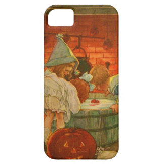 Jack O Lantern Pumpkin Bobbing Apple iPhone SE/5/5s Case