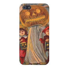 Jack O' Lantern Pumpkin Ghost Children Costume Cover For iPhone SE/5/5s