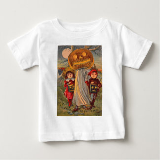 Jack O' Lantern Pumpkin Ghost Children Costume T Shirts