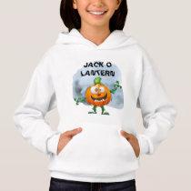 Jack O Lantern Pumpkin Hoodie