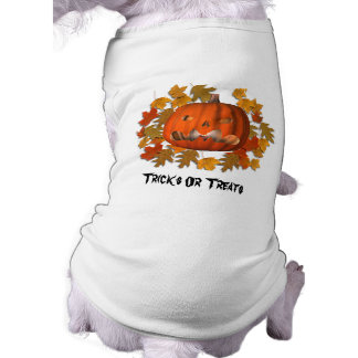 Jack O Lantern Pumpkin Leaves Halloween Cute Shirt