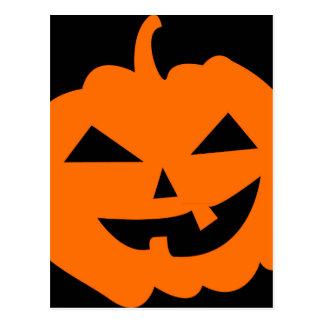 Jack O Lantern Pumpkin Postcard