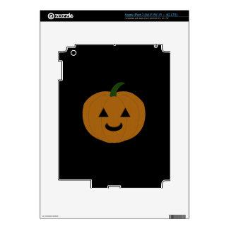 Jack-O-Lantern Pumpkin Skin For iPad 3