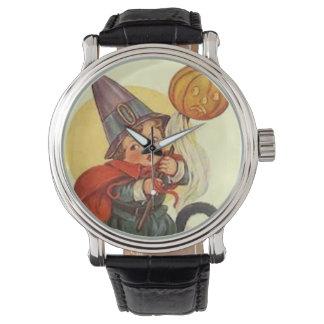 Jack O Lantern Pumpkin Witch Moon Watch