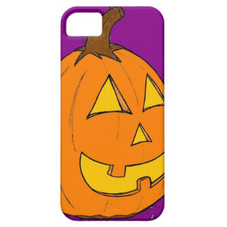 Jack o' Lantern Purple iPhone 5 Case