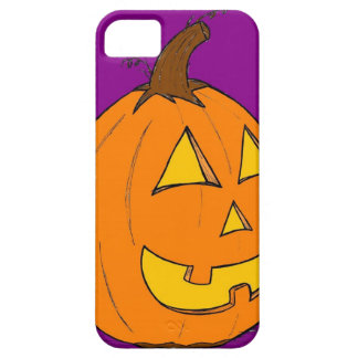 Jack o' Lantern Purple iPhone 5 Case Barely There
