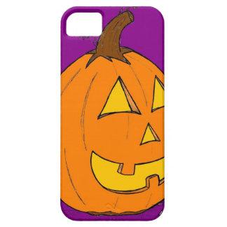 Jack o' Lantern Purple iPhone 5 Case ID