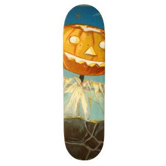 Jack O Lantern Scarecrow Stars Pumpkin Skateboard Deck