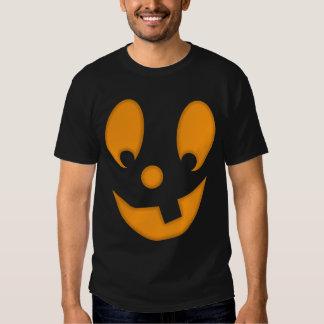 Jack-O-Lantern Silly Face Halloween Costume Shirt