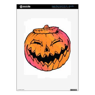Jack O Lantern iPad 3 Decal
