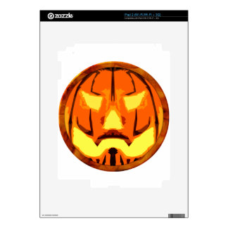 jack O Lantern Decals For The iPad 2