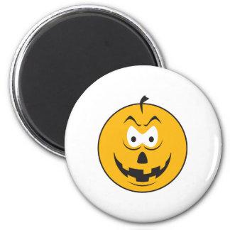 Jack-O-Lantern Smiley Face Refrigerator Magnet