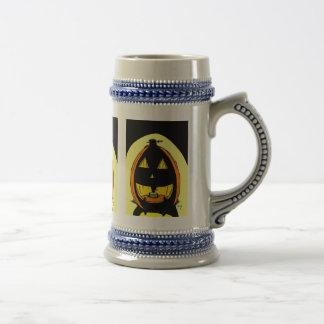 Jack o' Lantern Stein Coffee Mug