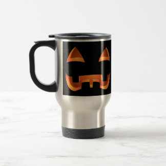 Jack-o-lantern Travel Mug Halloween Pumpkin Cups