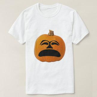 Jack o' Lantern Unhappy Face, Halloween Pumpkin T-Shirt