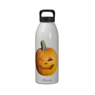 Jack O' Lantern Drinking Bottle