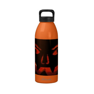 Jack O Lantern Drinking Bottles