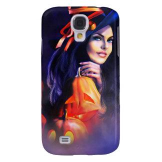 Jack-O-Lantern Witch Galaxy S4 Covers