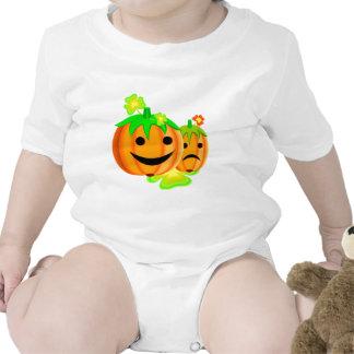 Jack o lanterns baby bodysuits
