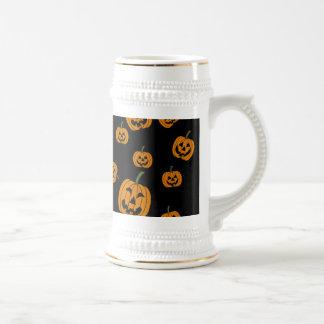 Jack O' Lanterns background Coffee Mugs
