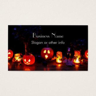 Jack-O-Lanterns Business Card