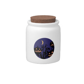 Jack O Lanterns Candy Jar