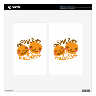 Jack O Lanterns Decals For Kindle Fire