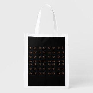 Jack-o'-lanterns Grocery Bags