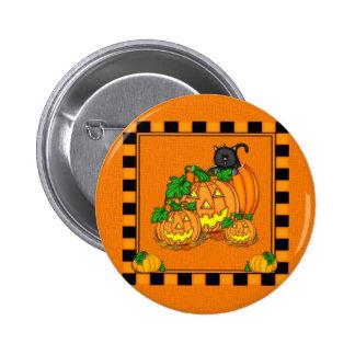 Jack O Lanterns Halloween Buttons