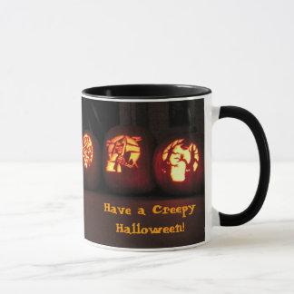 Jack-o-lanterns, Have a Creepy Halloween! Mug