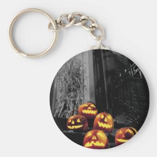Jack O' Lanterns Keychain