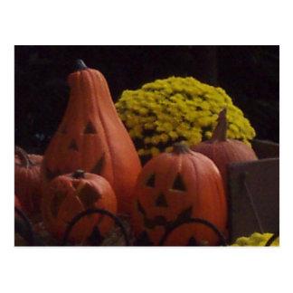 Jack-O-Lanterns Postcard