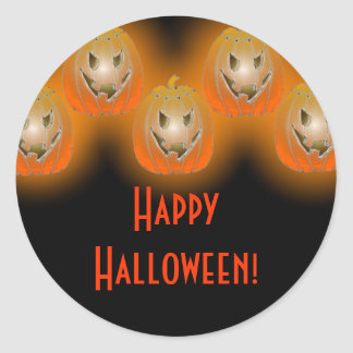 Jack-O-Lanterns Stickers