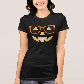 Jack-O-Linterna con la camiseta del personalizable Remera