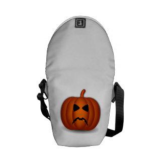 Jack-O-Linterna de Halloween Bolsa Messenger