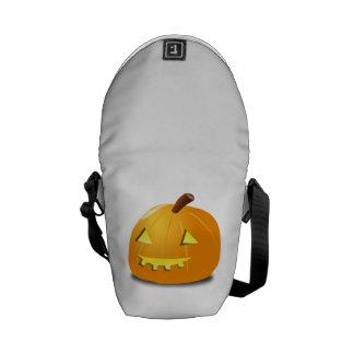 Jack-o-Linterna de Halloween Bolsa De Mensajería