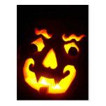 Jack-O-Linterna de Halloween Postal