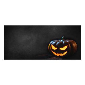 Jack-O-Linterna de la calabaza de Halloween Tarjetas Publicitarias